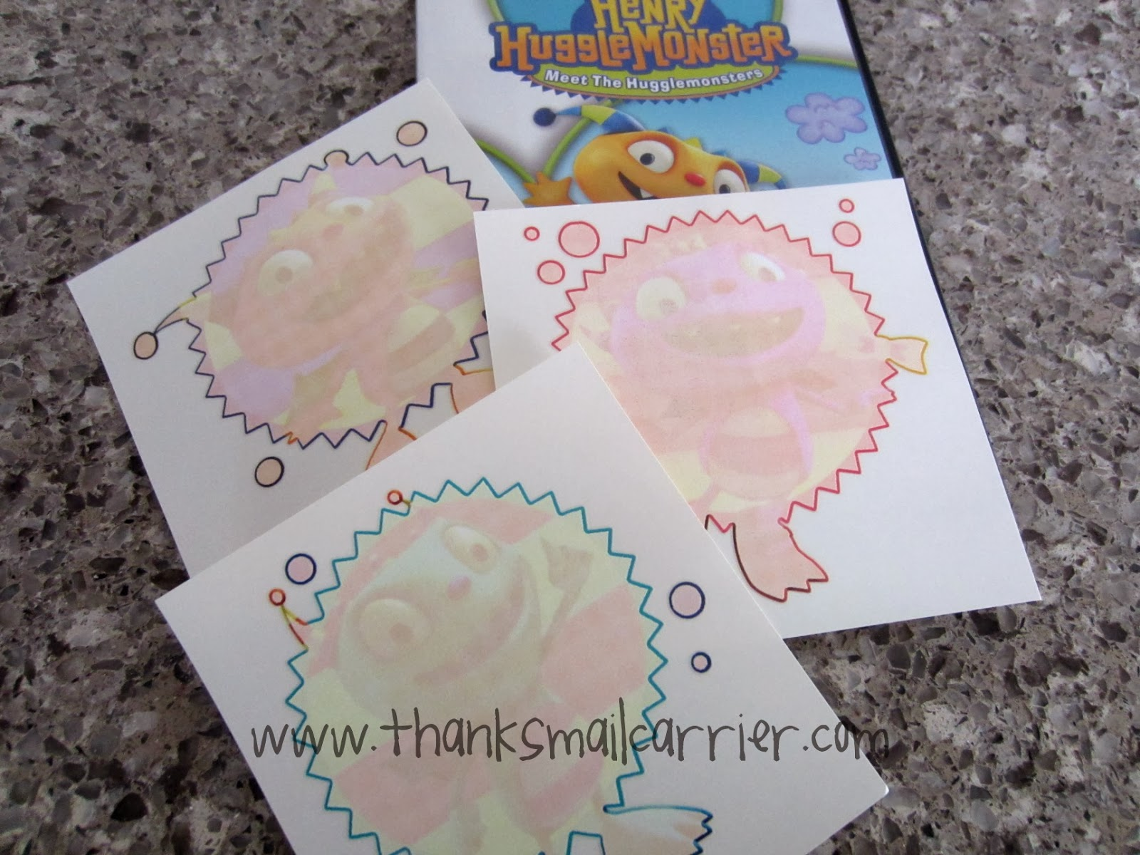 Henry Hugglemonster decals
