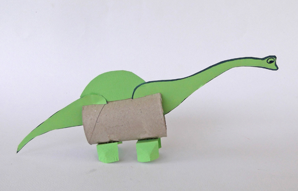 brontosaurus, dinosaurs crafts, kids crafts