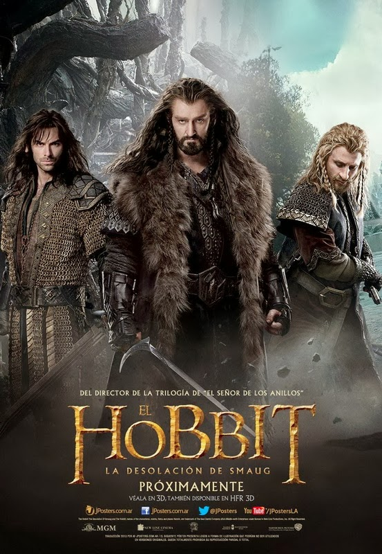 Le Hobbit 2 La Désolation de Smaug The Hobbit The Desolation of Smaug Bilbo Gandalf Tolkien The Dwarves Thorin Kili Richard Armitage