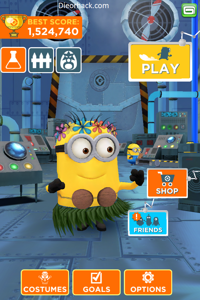 Despicable Me Minion Rush Unlimited Bananas Unlimited Tokens v1.5.0