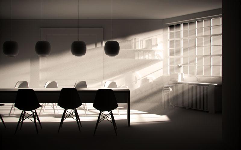 Fasci di luce visibile con Cinema4D e Vray