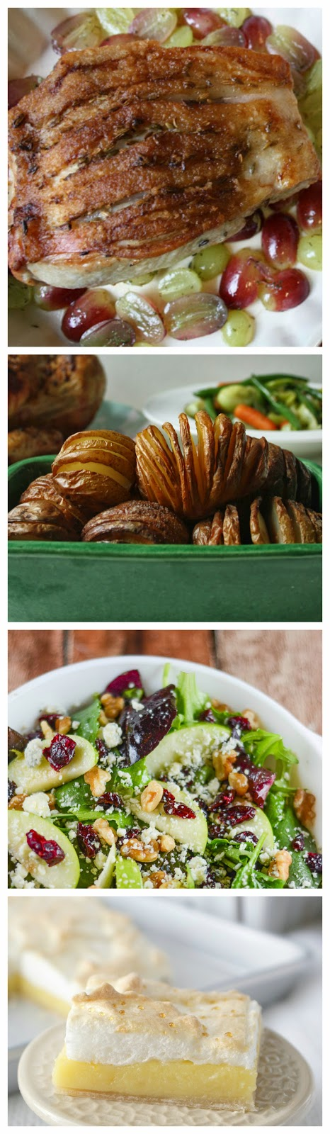 Ideas for a complete Easter dinner from Anyonita Nibbles