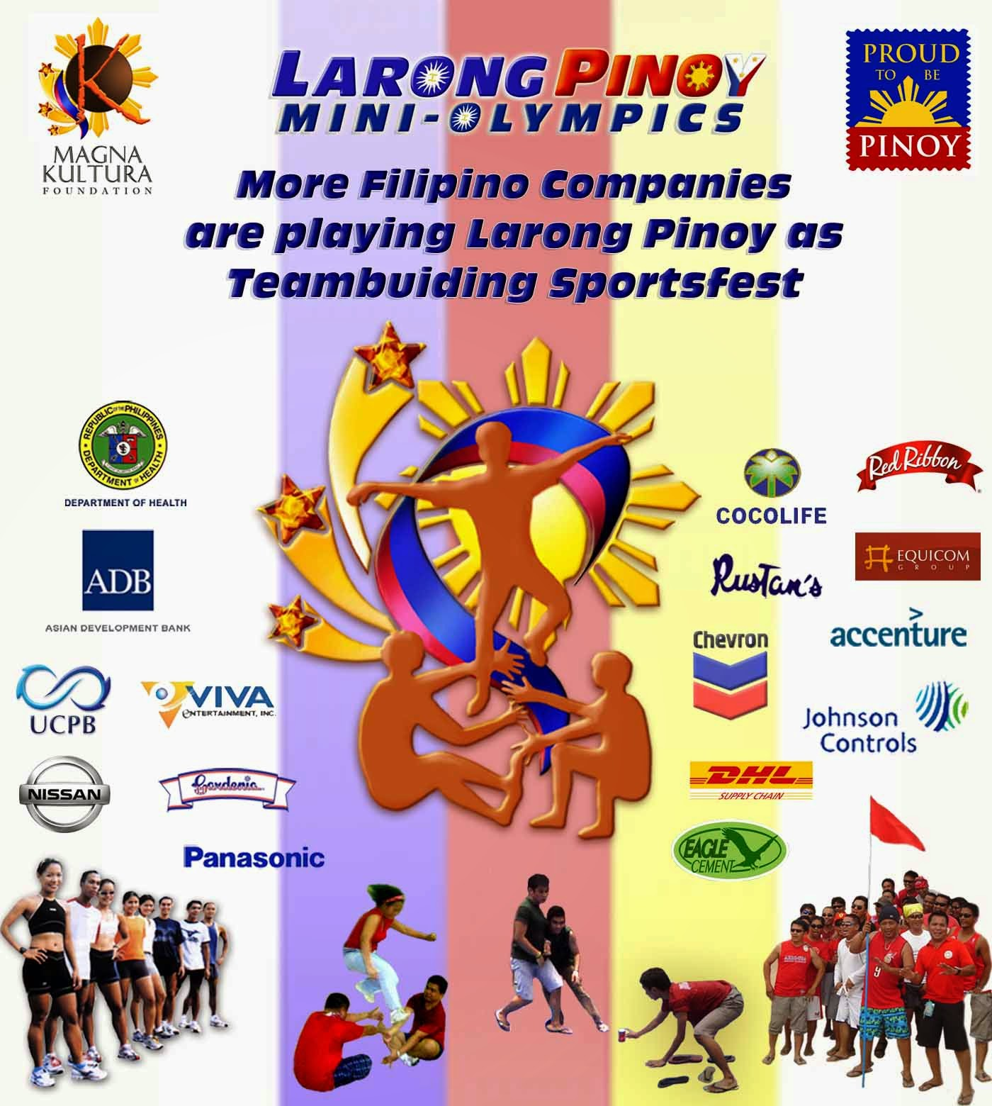 larong pinoy games Posts about larong pinoy written by laducla ucla  the americans might have taught the filipinos their games or the filipinos might have imitated the game and.