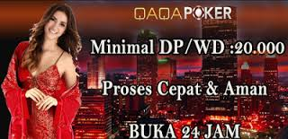 QaqaPoker.com Agen Judi Poker Online Indonesia Domino Terpercaya