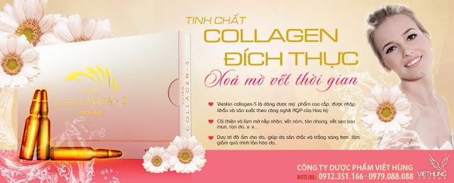 Vieskin Collagen - Tinh chất Collagen đích thực