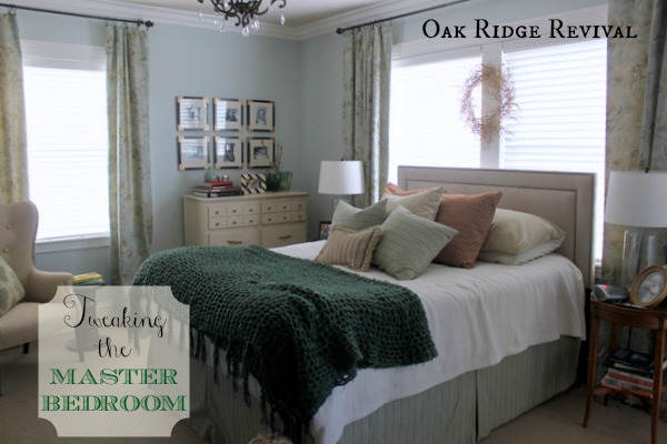 Oak Ridge Revival MASTER BEDROOM UPDATES - Oakridge bedroom furniture