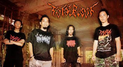 Total Busuk Band Brutal Death Metal Samarinda - Kalimantan Timur - Indonesia