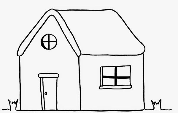 Dibujos De Casas Con Chimenea Para Colorear - Pintar En Casa ...