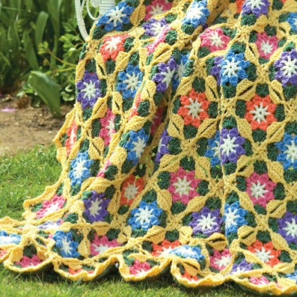 Sunny Day Flowers - Free Pattern