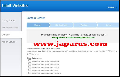 Cara register Domain .com .info. net. biz gratis