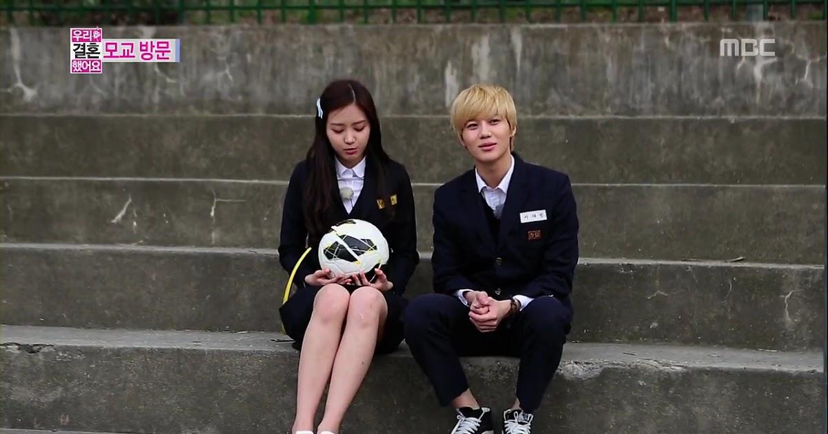 """Oddness/Weirdness: Watch Taemin And NaEun On """"We Got ..."""