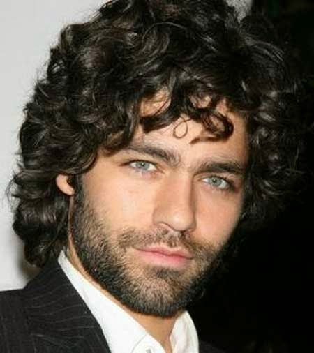 The Charming Medium Length Curly Hairstyle for Men ~ Cool Hairstyle ...
