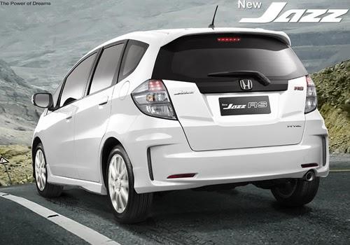 Spesifikasi Mobil Honda Jazz Type RS