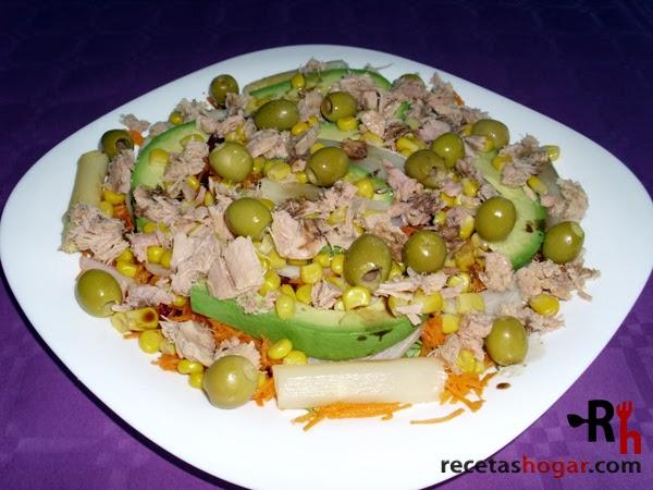 Recetas de cocina: Ensalada mediterránea