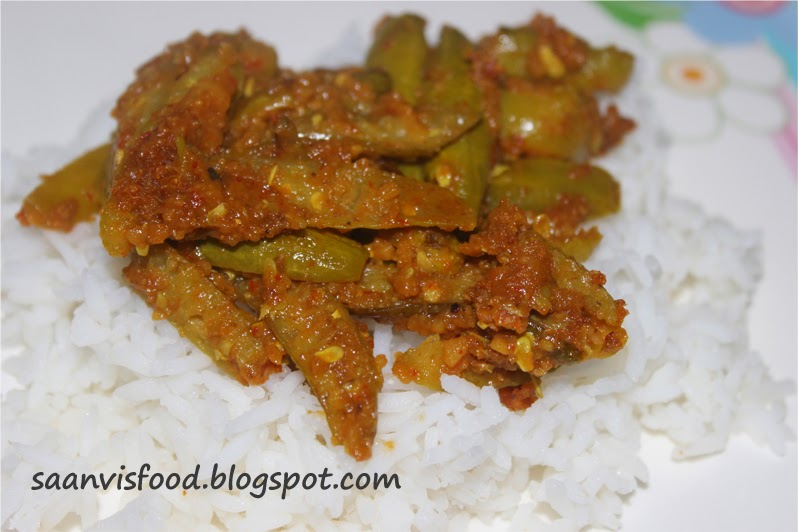Dondakaya Karam petti Kura ( Tindora with Curry powder)