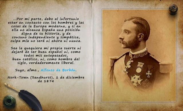 Manifiesto de Sandhurst. Comentario de Historia