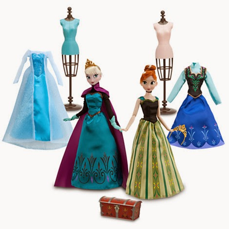 http://www.disneystore.com/frozen-deluxe-fashion-doll-set/mp/1341347/1000259/