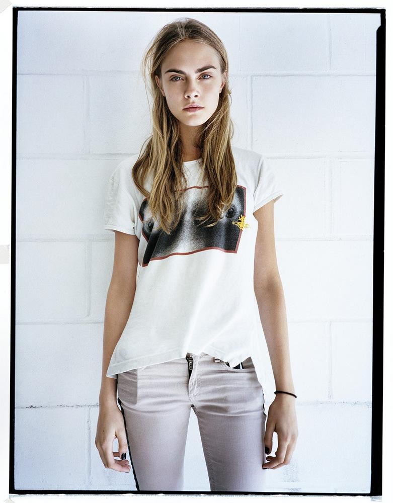Smartologie: Cara Delevingne for Style Spring/Summer 2013