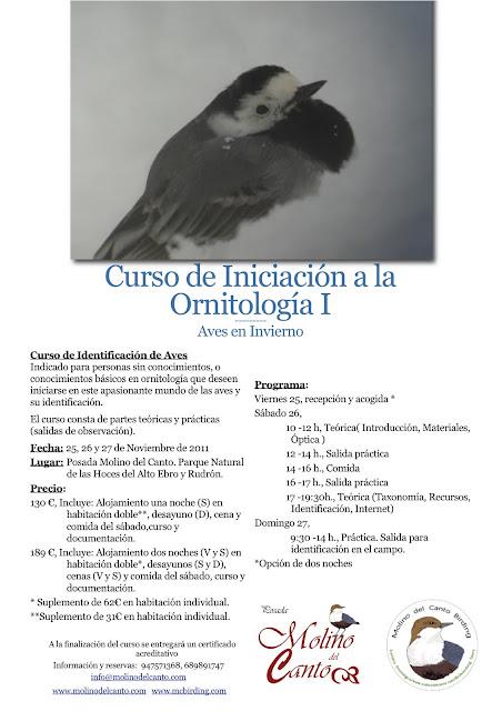 Curso de Iniciación a la Observación de Aves