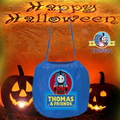 2012 cool toy kids Halloween Thomas and friends Trick or Treat spring pail sweeties toffee vessel