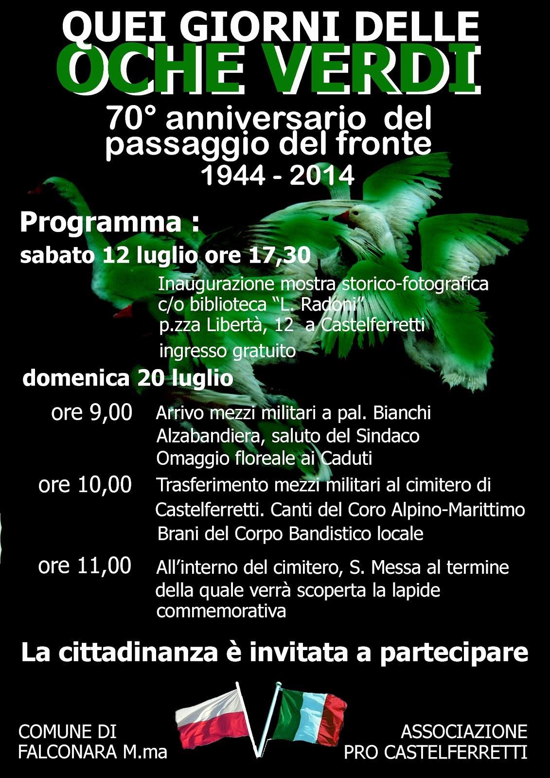 20 luglio 1944 ore 9-13 Castelferretti