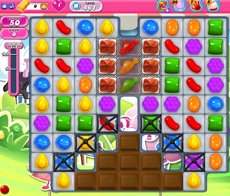 Candy Crush Saga 461