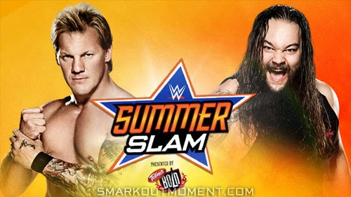 SummerSlam 2014 pay-per-view matches Y2J vs Wyatt