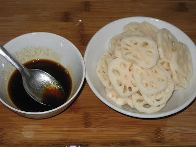 Củ sen xào kiểu Hàn Quốc 1