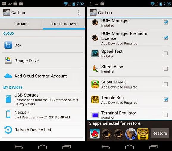 Helium Premium 1.1.3.3 APK screenshot