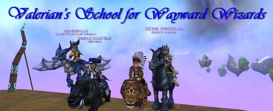 Valerian&#39;s School for Wayward Wizards