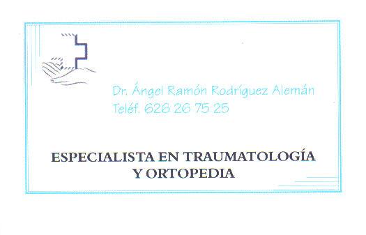 CONSULTA TRAUMATOLOGÍA Y ORTOPEDIA