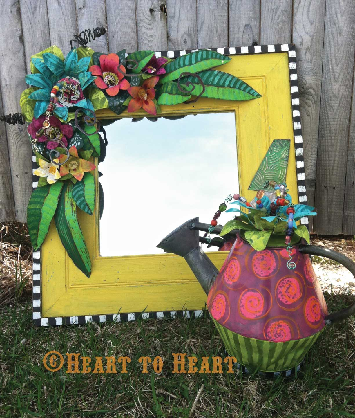 Heart to heart kiel wisconsin funky junk for Coralville arts and crafts show