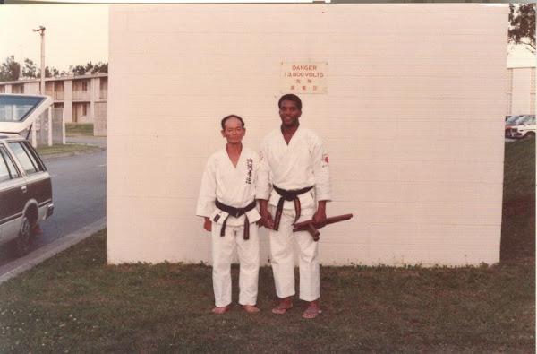 Sensei John Jackson and Seikichi Odo Hanshi