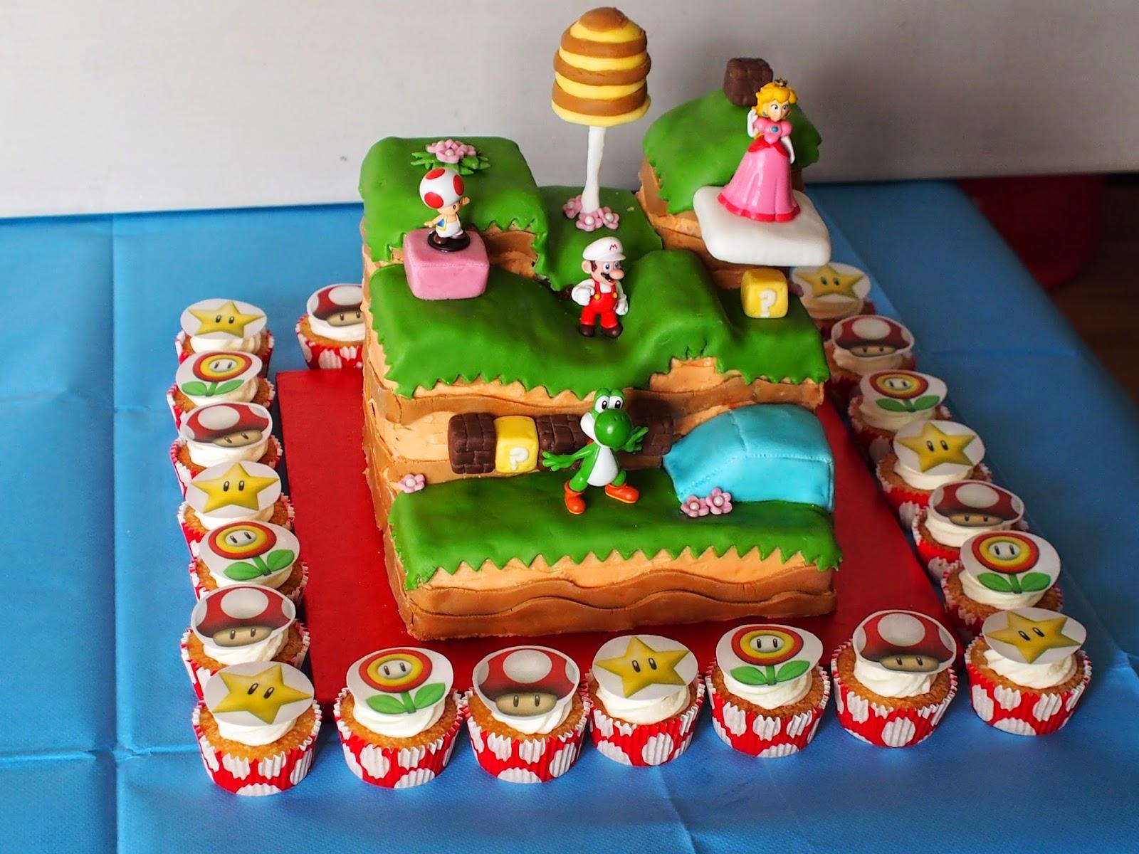 Paper Mario  Cake Mix