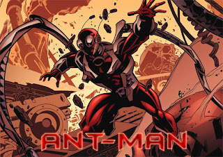AntMan in Red