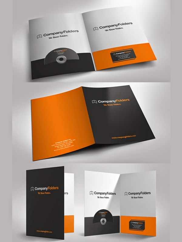 ��� ����� ����� ����� Presentation Folder Mockup ���� ����� ����