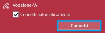 connetti rete wifi windows 10 password cancellata