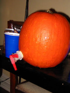 The infamous pumpkin keg.
