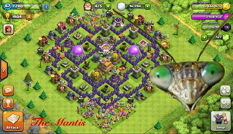 Clash of clans a brief guide for town hall 7 players