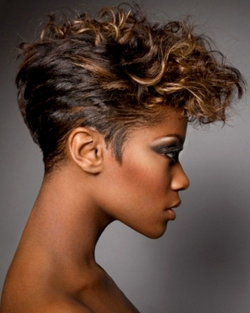 Elegant Short Curly Hairstyles for Black Women Over 50