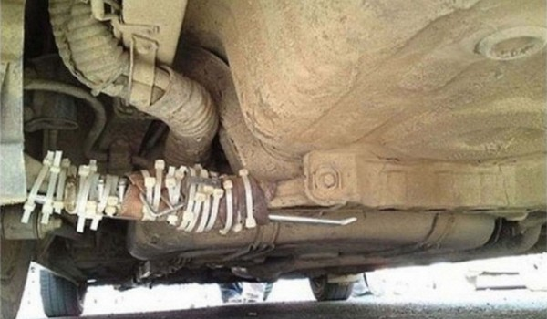 Horribles reparaciones de coches
