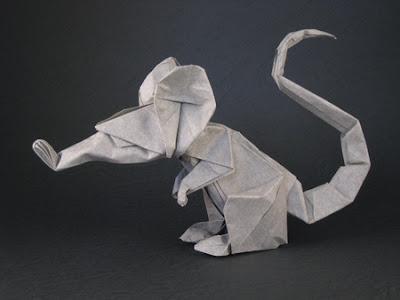 Крыса в исполнении автора (Eric Joisel)