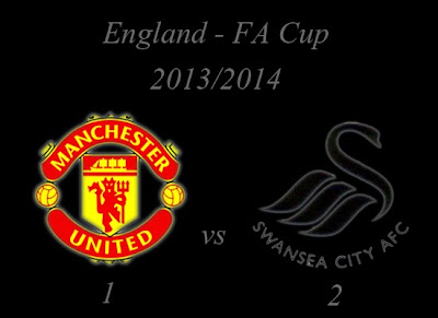 Manchester United vs Swansea City Result England FA Cup Third Round