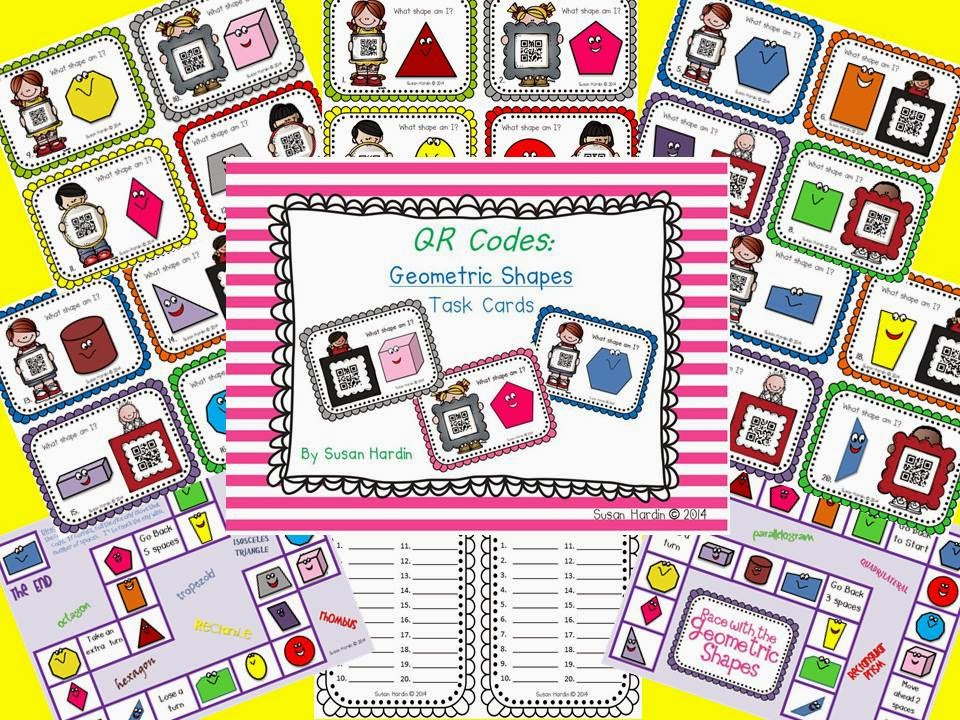 http://www.teacherspayteachers.com/Product/QR-Code-Task-Cards-Geometric-Shapes-1165536