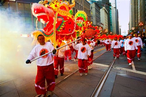 Famous Chinese New Year Festival In San Francisco