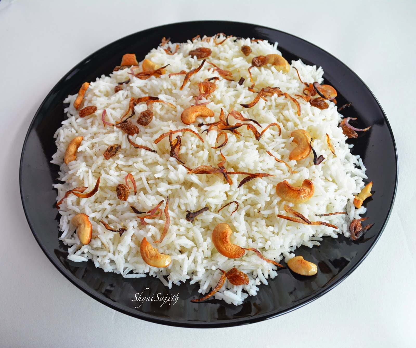 Ghee rice recipe in kerala style home