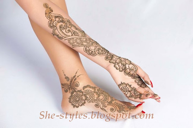 Mehndi Designs For Hands & Feet