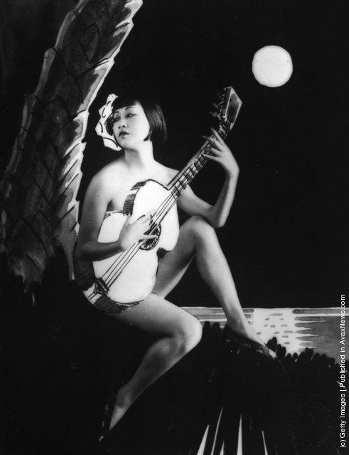 Старые портреты Анны Мей Вонг - первая китайско-американская кинозвезда