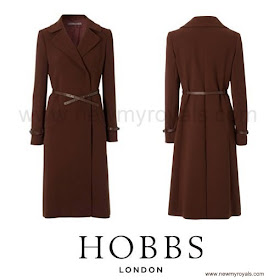 Kate Middleton wore HOBBS Celeste Coat