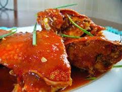 resep praktis dan mudah membuat (memasak) masakan seafood rajungan pedas asam manis enak, lezat